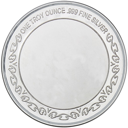 United States Coast Guard 999 Silver Round 1 Oz