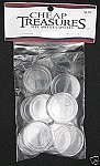 AirTite Coin Capsules 10 Pack Morgan/Peace/Ike/Trade Dollar