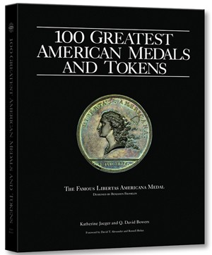 Whitman Book 100 Greatest American Medals and Tokens