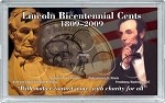 Abraham Lincoln Bicentennial Frosty Case  3x5