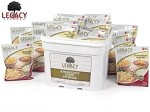 120 Serving Gluten Free Entree Bucket Legacy Foods