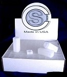 Cent 100 Coin Safe Square Coin Storage Tubes Case