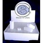 Small Dollar Coin Safe Square Tubes Coin Storage Individual