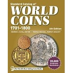 Standard Catalog of World Coins 1701-1800 6th Edition Krause Publications