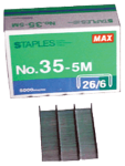 Max Brand Staples 5000 Count No.35-5M
