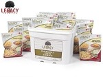 183 Serving Mega Sample Pack Bucket Emergency Legacy Food
