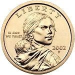2002 Native American Sacagawea Dollar