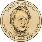 2010 James Buchanan Presidential D Mint Dollar