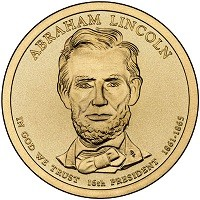 2010 Abraham Lincoln Presidential D Mint Dollar