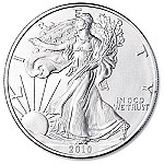 2010 American US Silver Eagle Dollar Coin