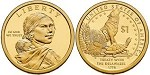 2013 D Native American Sacagawea Dollar