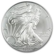 2013 American US Silver Eagle Dollar Coin
