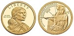 2014 D Native American Sacagawea Dollar