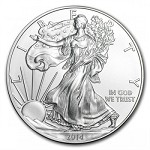 2014 American US Silver Eagle Dollar Coin