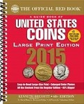 2015 Red Book U.S. Coins Large Print Edition
