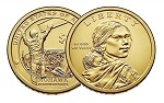 2015 D Native American Sacagawea Dollar