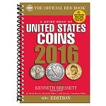 2016 Red Book U.S. Coins Spiral Cover
