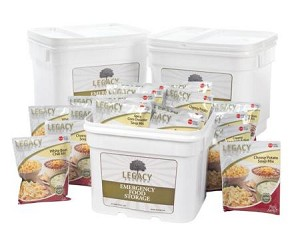 360 Serving Gluten Free Entree Bucket Legacy Foods