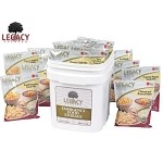 60 Serving Gluten Free Entree Bucket Legacy Foods