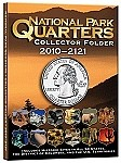 2010-2021 4 Color National Park Quarters Folder WHITMAN 0794828833