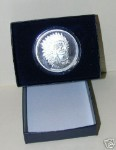 Gift Box & Capsule for 1 oz Silver Rounds or Bars