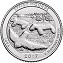 2017 Effigy Mounds National Monument America National Park Quarter D