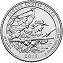 2017 George Rogers Clark National Historical Park (IN) America National Park Quarter D