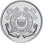 UNITED STATES COAST GUARD .999 SILVER ROUND 1 OZ