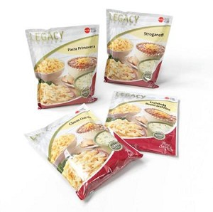 16 Serving Entree' (Sample Pack) Emergency Legacy Food