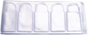 1 oz Silver Bar Protector Sleeves 5 Pack