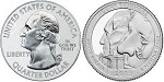2013 Mount Rushmore National Park Quarter D
