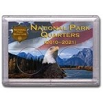 2x3 National Parks Flag and Eagle Design Frosty Case 2 Hole