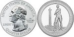 2013 Perrys Victory National Park Quarter P