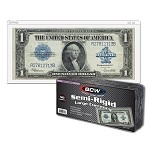 BCW Large Semi-Rigid Currency Holder Pack of 50