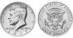 2017 Kennedy Half Dollar D Mint