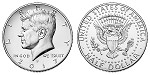 2017 Kennedy Half Dollar P Mint