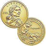 2017 D Native American Sacagawea Dollar