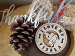 Laser Cut I Love My Visla Ornament 3.75
