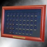Presidential Dollar Coin Frame Display