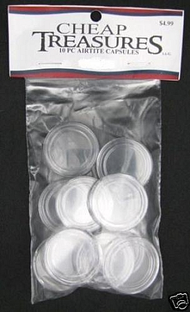 AirTite Coin Capsules 10 Pack Nickel
