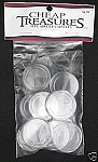AirTite Coin Capsules 10 Pack 1 oz Silver Round