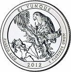 2012 El Yunque National Park Quarter P