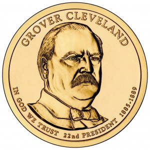 2012 Grover Cleveland Presidential Dollar (First Term) P