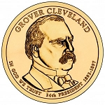 2012 Grover Cleveland Presidential Dollar (Second Term) D