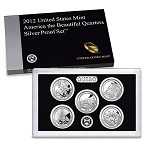 2012 Silver Quarter Proof Set