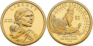 2013 P Native American Sacagawea Dollar
