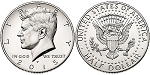 2015 Kennedy Half Dollar P Mint