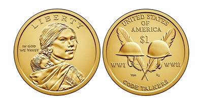 2016 P Native American Sacagawea Dollar