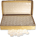 AirTite Coin Capsules Case 250 1oz Silver Bar
