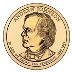 2011 Andrew Johnson Presidential D Mint Dollar